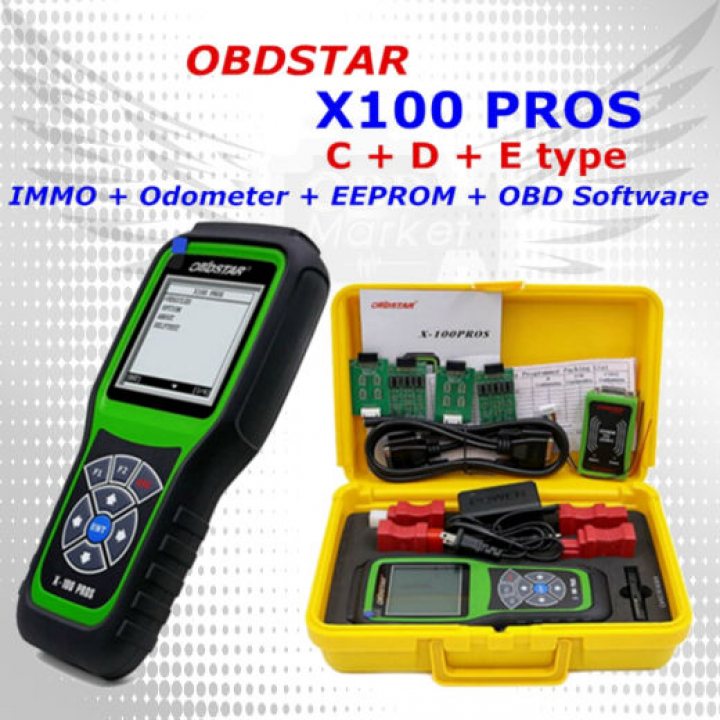 X100 PROS OBDSTAR (тип C+D+E) - программатор