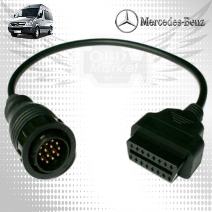 Mercedes 14pin - переходник