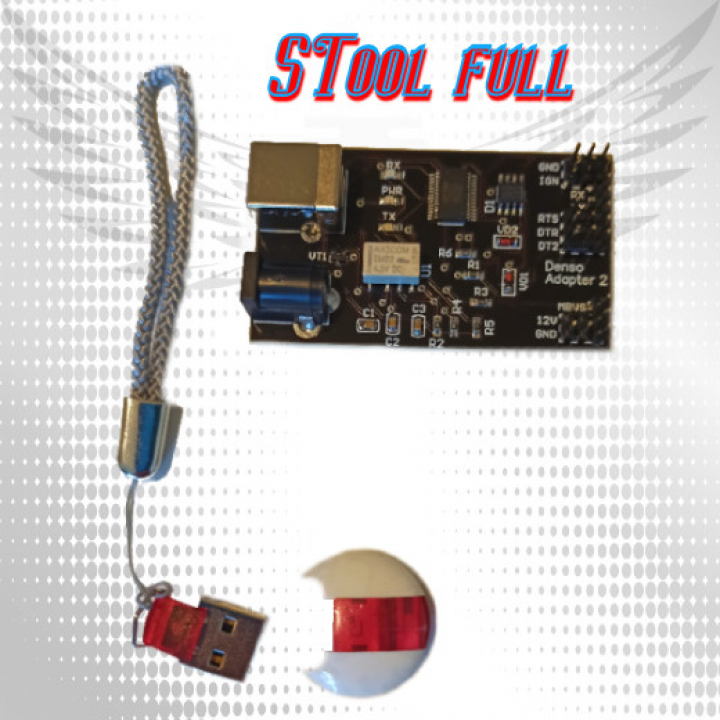 STool (MTool) Key full + адаптер Denso