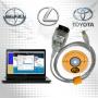 Toyota mini vci - диагностический адаптер