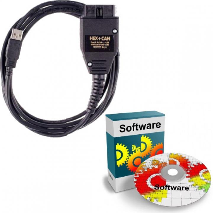 Установка программного обеспечения для адаптера VCDS