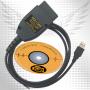 VCDS 18.9.0 Hex+Can - диагностический адаптер для группы Vag